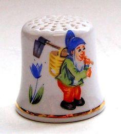 RP:  Vintage Porcelain Thimble GERMAN THIMBLE | eBay.com