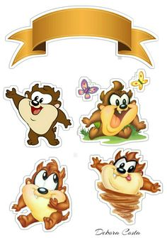 Baby Looney Tunes, Apple Logo Wallpaper Iphone, Unicorn Cake Topper, Stickers, Badges, Bowser, Clip Art, Cartoon, Cards