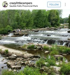 Sauble Falls Provincial Park Ontario Parks, Golf Courses, To Go, Bucket, Canada, Mountains, Fall, Places, Nature