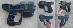 Halo Magnum Pistol by *xREBEL666x on deviantART