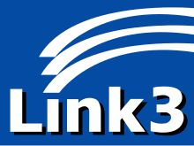 Link3 - Wikipedia Technology, Logos, Tech, Logo, Tecnologia