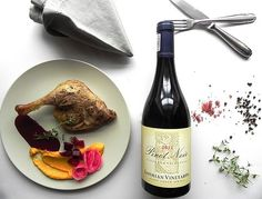 Duck and Chocolate Cherry Sauce paired with Lothian Pinot Noir South African Wine, Cherry Sauce, Wine Pairings, Chocolate Cherry, Pinot Noir, Wine Recipes, Wines, Management, Yummy Food