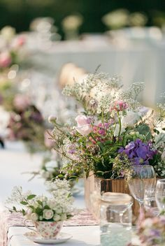 Orange County Garden Wedding by Erin Hearts Court Photography | Style Me Pretty