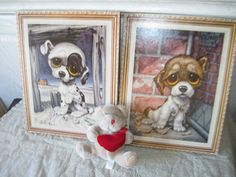 Sweet Puppy Pictures By Gig by Daysgonebytreasures on Etsy, $16.00