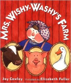 Mrs. Wishy-Washy's Farm: Joy Cowley, Elizabeth Fuller: 9780399238727: Amazon.com: Books