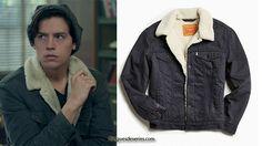 RIVERDALE : Jughead in Levi's Sherpa Trucker Jacket in s1ep05 - Fringues de séries