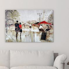 Ruane Manning 'Riverwalk Charm' Canvas Art