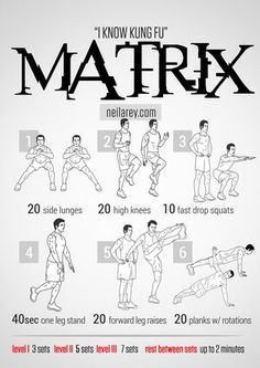Matrix - Neila Rey workout - neilarey.com