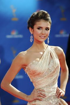 Nina Dobrev LITERALLY looks like a queen