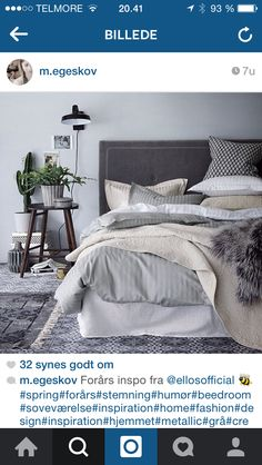 Bedroom soveværelse inspiration