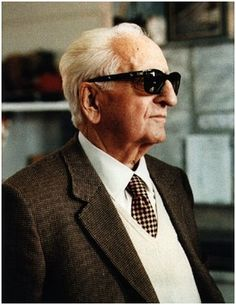 Enzo Ferrari. The man who gave his name and passion to the finest sports car ever built. That's italian !