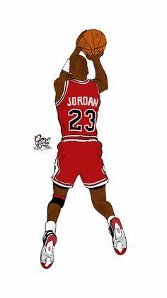Michael Jordan Cartoon By Core Custom Design Michael Jordan Basketball, Basketball Is Life, Basketball Players, Jordan Logo Wallpaper, Nike Wallpaper, Nba Pictures, Basketball Pictures, Jordan Painting, Michael Jordan Pictures