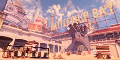 "BioShock Infinite ( Irrational Games, 2013 )    - ""Temples Of Boom"""