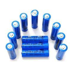 A Bateria Recarregável Lanterna 18650 6800mah 4.2v é ideal para Lanternas Táticas e Outros Eletrônicos. Possui Alta capacidade de duração Tensão: 3.7 V Capacidade: 6800mAh - Ponto de proteção de sobrecarga: 4,2v Ponto de proteção de descarga: 2,7v - Diâmet