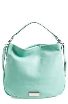In love with this mint Marc Jacobs hobo!