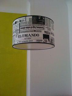 """Lampenschirm 45cm - """"Aktuell"""" mit Diffusor von XBergLampenschirme auf DaWanda.com"""