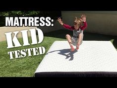 HowToBeADad.com – Putting a Mattress to the KID TEST (Video + GIVEAWAY)