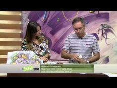 LUIS MOREIRA PINTURA EM TECIDO ROSAS PRETAS PT 1 | Cantinho do Video