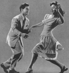 Its fun watching people dance the Lindy Hop. I want to learn some day.