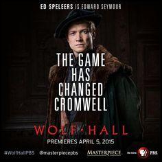 Ed Speleers as Edward Seymour in Wolf Hall