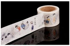 Decoration  Washi tape 25mm x 7m  - Koearn traditional painting
