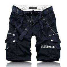 Best value Men's Cargo Shorts – Great deals on Men's Cargo Shorts from global Men's Cargo Shorts sellers Tomboy Fashion, Fashion Pants, Mens Fashion, Overalls Fashion, Mode Polo, Kinds Of Clothes, Sharp Dressed Man, Color Shorts, Casual Shorts
