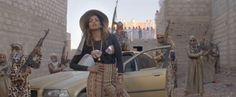 M.I.A. – Bad Girls - some of my favourite ever outfits are in this one video.