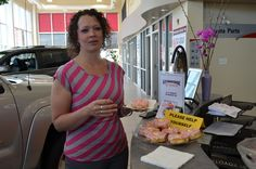 In support of Tim Horton's Alberta Flood Donation efforts we bought 10 dozen doughnuts for our customers & Staff. Tim's has the event running through July 7/13. Go get yours!