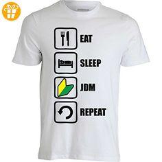 Eat Sleep Jdm Repeat Graphic Design Men's T-Shirt XX-Large (*Partner-Link)