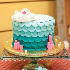 Nautical Little Mermaid Birthday Party