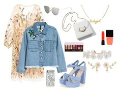 """""""grammar schooll graduation"""" by nastyanotnoisy on Polyvore featuring мода, H&M, Recover, Humble Chic, MAC Cosmetics и Witchery"""