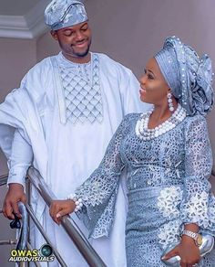 Yoruba Traditional Wedding Attire Styles [Updated May Yoruba Traditional Wedding Attire 2018 Couples African Outfits, African Lace Dresses, African Clothing For Men, African Fashion Dresses, African Wedding Attire, African Attire, African Wear, Nigerian Wedding Dresses Traditional, Traditional Wedding Attire