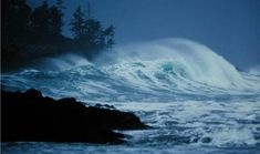 the dark stormy night when Dom and Inta go for a swim  Storm Watch | Wickaninnish Inn, Tofino, Canada