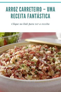 Chef Recipes, Cooking Recipes, Carne, Paella, Potato Salad, Health Tips, Side Dishes, Good Food, Food And Drink