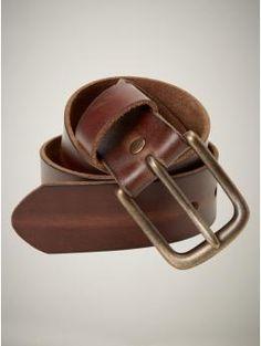 Vintage leather belt - GAP ($30)