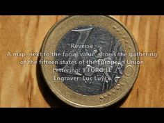 Rare Coin Values, Euro Coins, Germany, Lettering, Youtube, Diy, Bricolage, Deutsch, Drawing Letters
