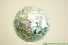 Image titled Make a Disco Ball with CDs Intro