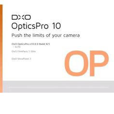 DxO Optics Pro 10 Crack Software Full Download