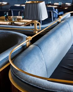 Seating Detail - Martin Brudnizki Design Studio, New York , Bullion TX
