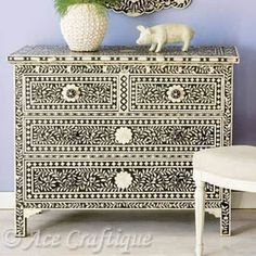 faux inlay furniture - Google Search