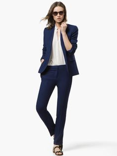 NAVY SUIT by Massimo Dutti