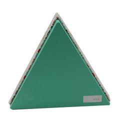 Triangular the christmas box christmas storage boxes Christmas box print,OEM welcome Christmas Storage Boxes, Christmas Gift Box, Led Flashlight