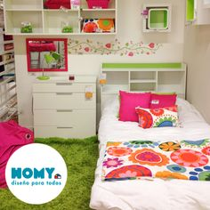 #Dormitorio #Infantil #Homy #Niños #Bedroom #Kids