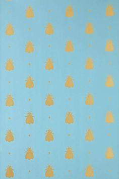Bumble Bee Bp 555 Prints, Paper, Wallpaper by Farrow Ball Powder Room Wallpaper, Paper Wallpaper, Geometric Wallpaper, Home Wallpaper, Colorful Wallpaper, Bathroom Wallpaper, Farrow Ball, Free Wallpaper Samples, Wallpaper Patterns
