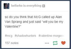 The Mortal Instruments, Shadowhunters, McG and Alan van Sprang - Valentine