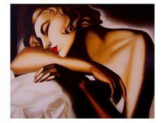 Ragazza che dorme - Tamara De Lempicka