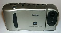 The Most Important Digital Cameras of All Time | 1995 Casio QV-10