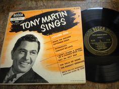 Tony Martin Sings Decca DL 5189