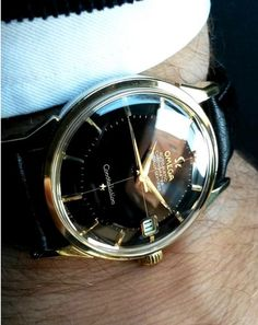 Stunning Vintage OMEGA Constellation Piepan Chronometer