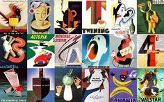 Retro/Art Deco/50s illustration  magazine covers?